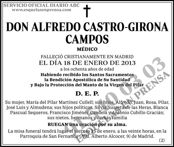 Alfredo Castro-Girona Campos
